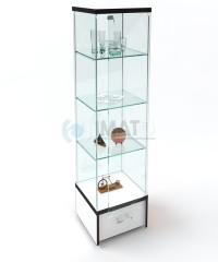 """Стеклянная витрина  на подиуме """"ВК-450"""""""