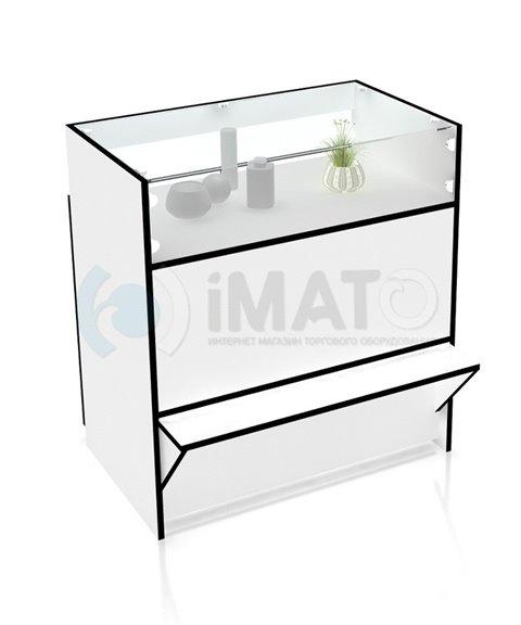 Прилавок торговый классический со стеклом