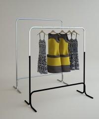 Вешало напольное регулируемое для одежды 5MR-01(хром)