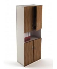 Ш-07 Шкаф офисный с дверцами простой