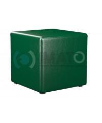 Пф-1 Банкетка-пуфик куб зеленый
