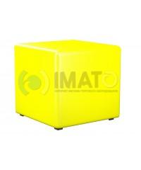 Пф-1 Банкетка-пуфик куб желтый