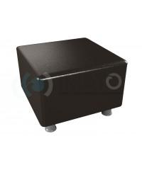 Пф-101 Банкетка-пуфик квадрат черный