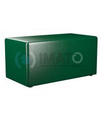 Пф-2 Банкетка-пуфик прямоугольник зеленый