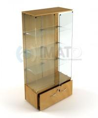 ВПН-502 Витрина стеклянная выставочная с тумбой