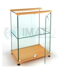 ВК-900 С Витрина выставочная стеклянная