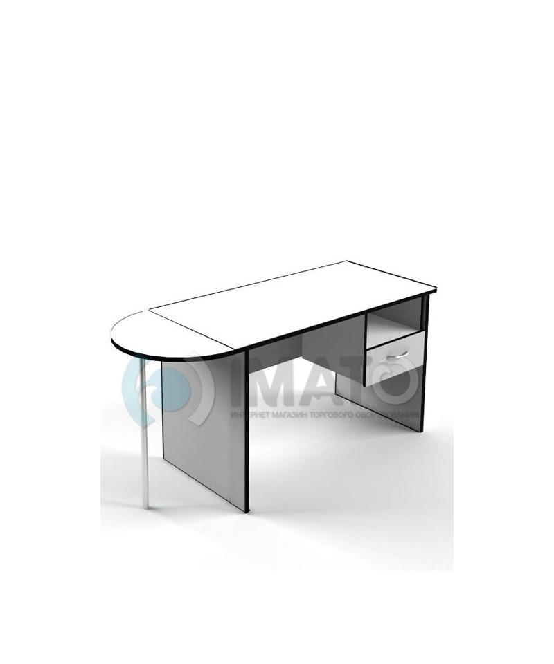 П-02 угловой элемент к офисным столам С-01, С-02, С-03, С-04
