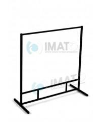 Вешалка ИМАТО 1200-1 напольная металлическая стационарная, не регулируемая, сталь крашенная.