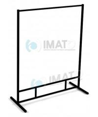 Вешалка ИМАТО 1500-1 напольная металлическая стационарная, не регулируемая, сталь крашенная.