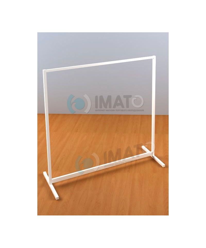 Вешало ИМАТО 1200-4  напольное опоры сталь 25х25мм серый/белый/черный