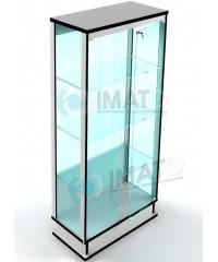 ВК-800-С  витрина прозрачная с подиумом