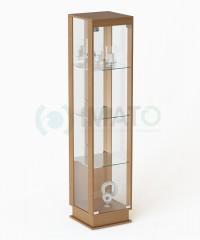ВМП-400-З  витрина зеркальная стаканчик с подиумом