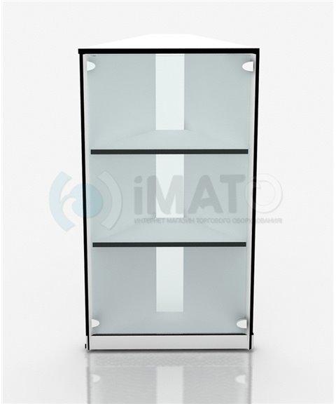 Торговый прилавок угловой со стеклом