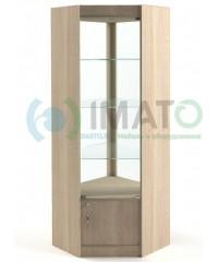 ВУ-164 Витрина с дверьми открытая со стороны продавца