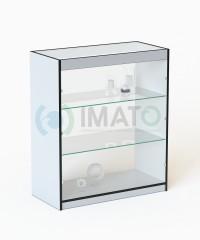 ПР-3 Торговый прилавок стеклянный с полками