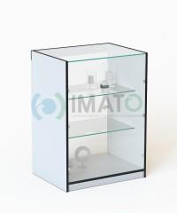 ПР-32-60-Б Прилавок торговый классический со стеклом