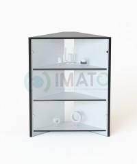 ПР-7 Торговый прилавок угловой со стеклом