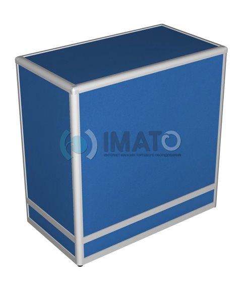 Прилавок торговый рамочный алюминиевый 50-90-90