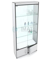 Витрина стеклянная, классическая с накопителем №6-С