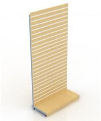 КС-301/1200 Стойка из экономпанели на металлических стойках 240-120-55 односторонняя