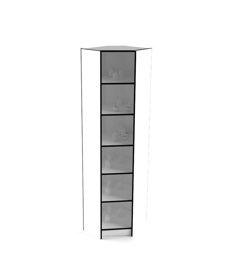 Угловой элемент к высоким стеллажам 238-60-60 внутренний