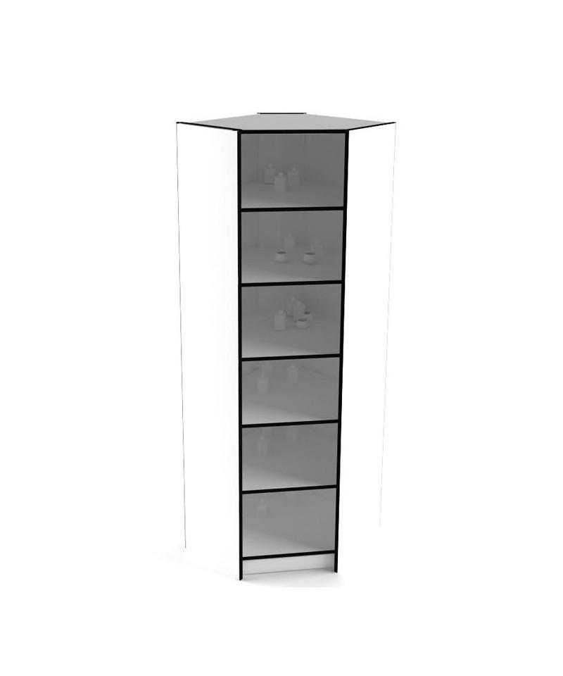 Угловой элемент к высоким стеллажам 238-80-80 внутренний