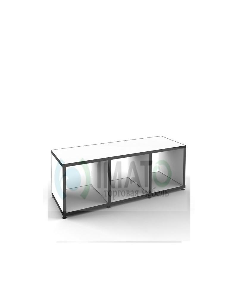 Стеллаж -тумба открытый с 3-мя ячейками   38-1080-38