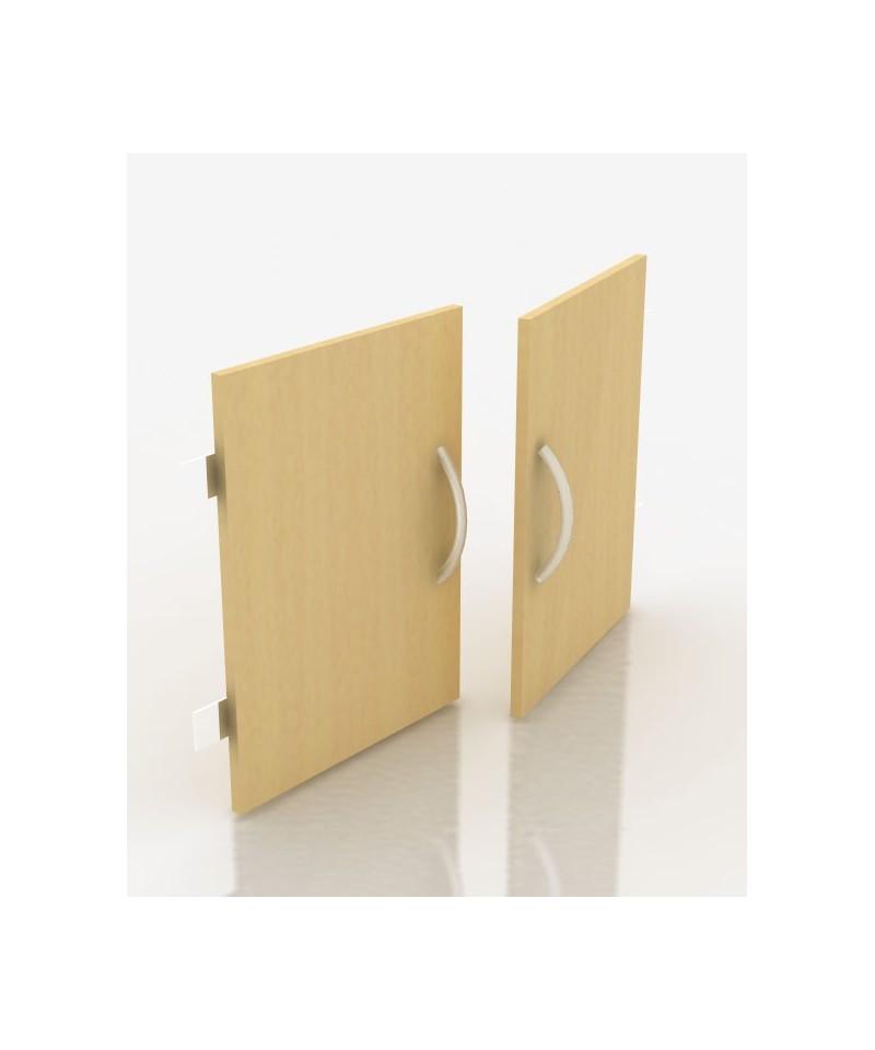 Распашные двери к стеллажам Ст-210, 216 шириной 850мм на 2 полки
