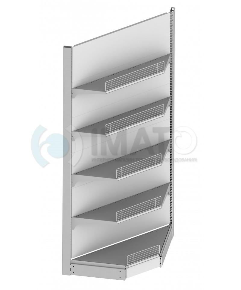 СТ-УВ 50 Стеллаж металлический угловой внутренний