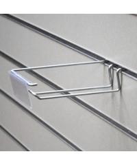 Еврокрючок с ценникодержателем для экономпанели длина 250 мм