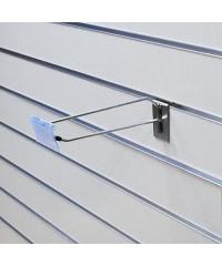 Еврокрючок с ценникодержателем для экономпанели длина 150 мм