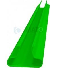 Комплект вставок для эконом-панели (зеленые) 23 шт