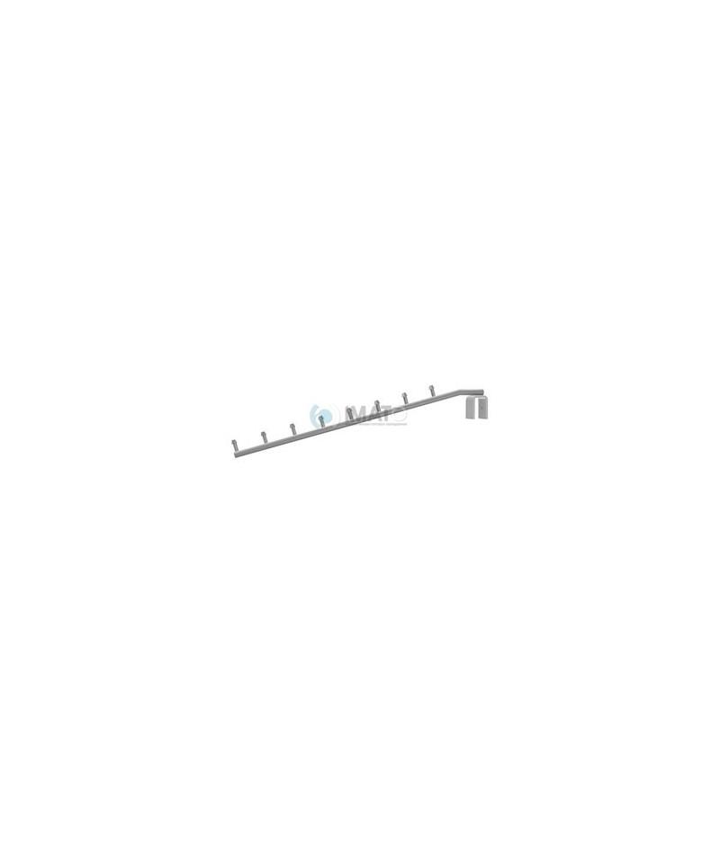 475 Кронштейн наклонный на прямоугольную трубу