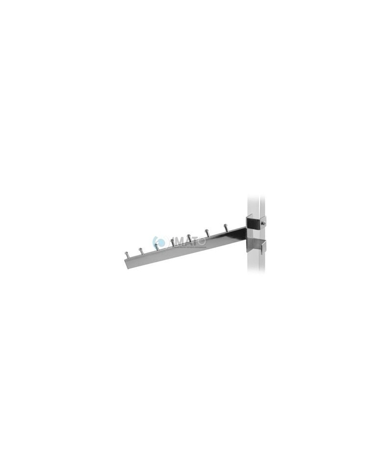 483 Кронштейн наклонный на вертикальную трубу 25х25