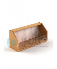 КФ-10 Надстройка конфетница к стеллажам СТ-10, СТ-33, СТ-37