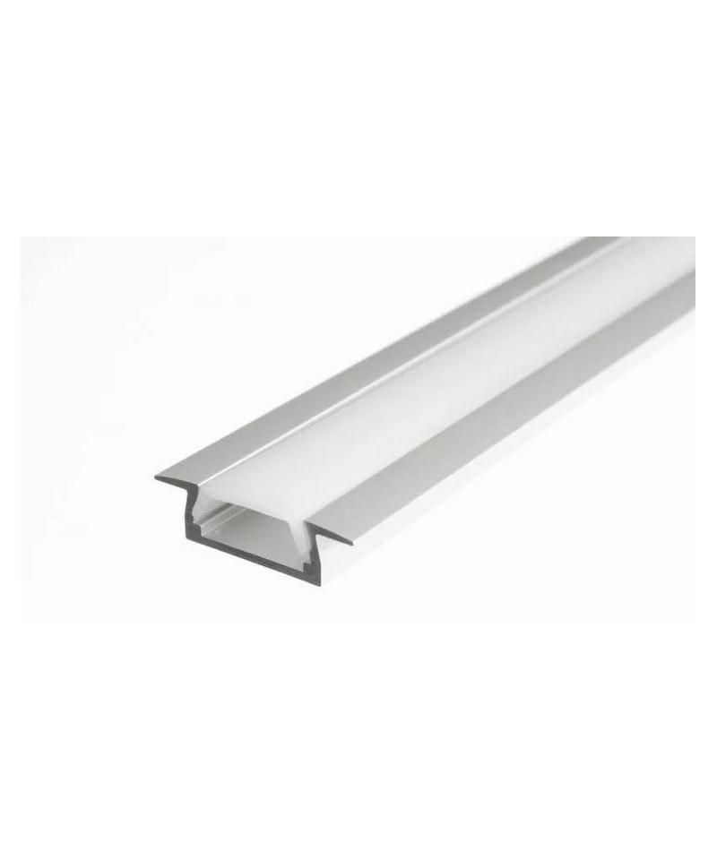 врезной алюминиевый профиль для светодиодной ленты, 1м