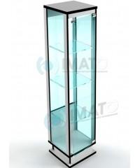ВМП-400-С витрина стеклянная стаканчик с подиумом
