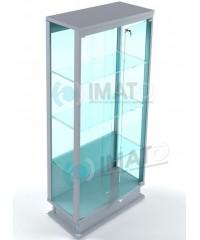 ВМП-800-С витрина прозрачная с подиумом