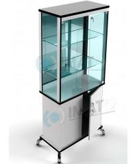 ВМН-800-З LUX витрина стаканчик с тумбой