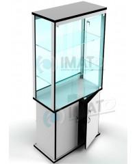 ВК-800-С  витрина стеклянная с тумбой