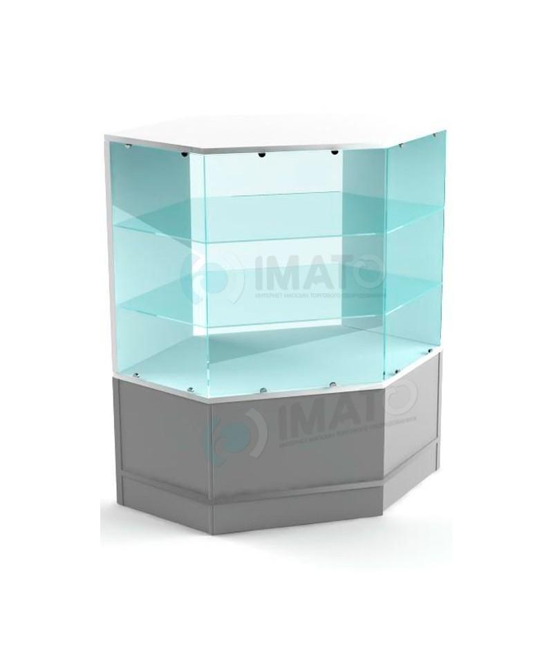 Прима-3  Остекленная угловая витрина