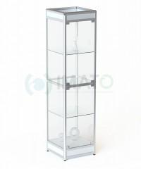 ВА-500 Витрина выставочная алюминиевая с цоколем