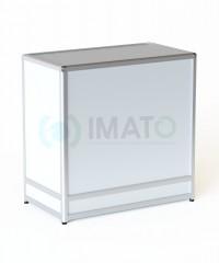 ПР-30А Прилавок торговый рамочный алюминиевый