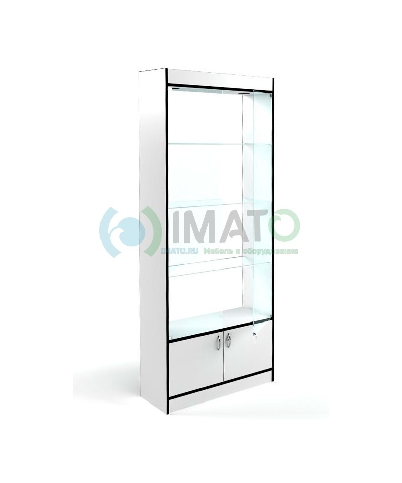 В-64 Витрина стеклянная без задней стенки