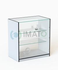 ПР-32 Классический торговый прилавок со стеклянными полками
