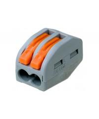 Wago  2-проводная для медных проводов, сечение до 4 мм2