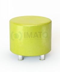 Пф-103 Банкетка-пуфик круглый (17 цветов)