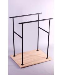 Бэст-1307 Стойка вешалка  напольная для одежды