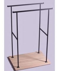 Бэст-1507 Стойка вешалка  напольная для одежды