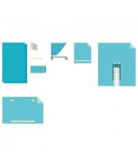 Комплект белья одноразовый хирургический для бедра и конечностей КБО-07 ГЕКСА стерильный, 8 предметов